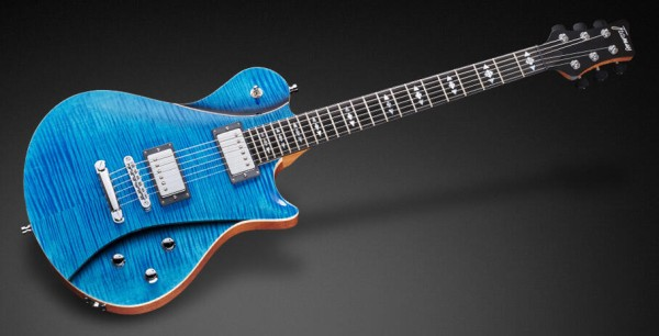Framus Masterbuilt Panthera II Supreme, Ocean Blue Transparent High Polish