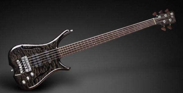 Warwick Custom Shop Infinity, 5-String - Nirvana Black Transparent High Polish - 15-2746