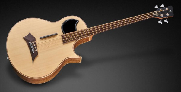 Warwick Alien, 4-String - Natural Transparent Satin