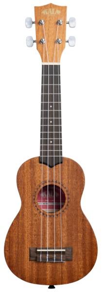 KALA KA-15S - Satin Mahogany Soprano Ukulele, with Bag (UB-S)