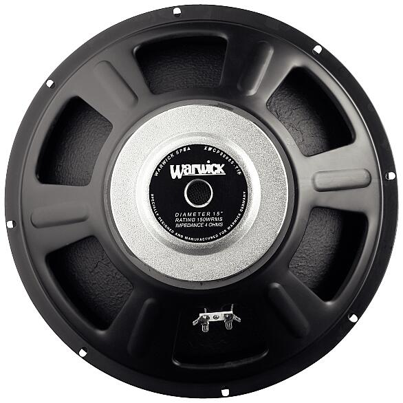 "15"" Speaker / 4 Ohm / 95 dB / Range: 30-4000 Hz / Resonant Frequency: 35 Hz"