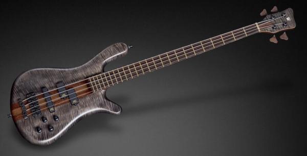 Warwick Custom Shop Streamer Stage I, 4-String - Nirvana Black Transparent Satin - 17-3465