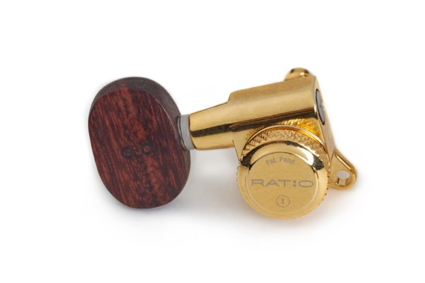 Framus Ratio Locking Tuners with Wooden Knobs