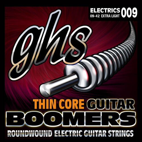 GHS Thin Core Boomers Electric Guitar String Sets