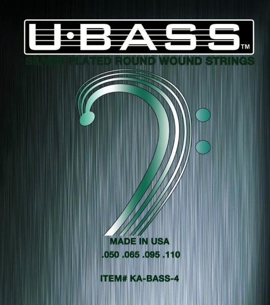Kala U-Bass Silver-Plated Roundwound String Sets