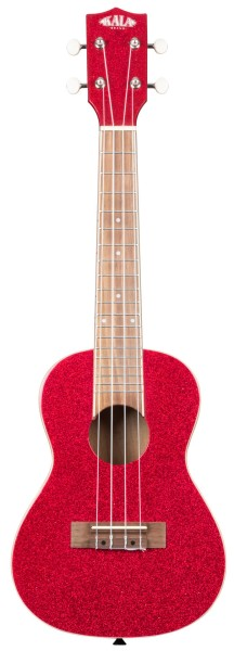 KALA KA-SPRK-RED - Sparkle Series Ritsy Red Concert Ukulele, with Bag (UB-C)