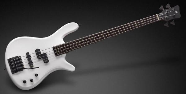Warwick Custom Shop Streamer LX, 4-String - Solid White High Polish - 14-2702
