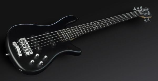 Warwick RockBass Artist Line Robert Trujillo, 5-String - Solid Black Satin