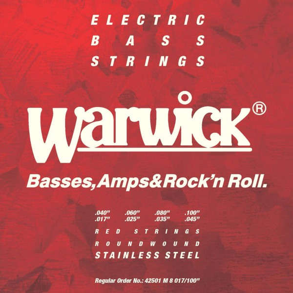 Warwick RED Strings - Bass String Sets - Stainless Steel