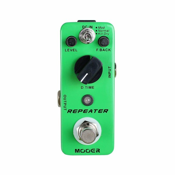 Mooer Repeater, 3 Modes Digital Delay Pdl
