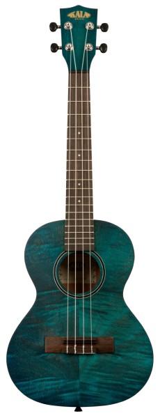 KALA KA-TEMB - Blue Exotic Mahogany Tenor Ukulele, with Bag (UB-T)