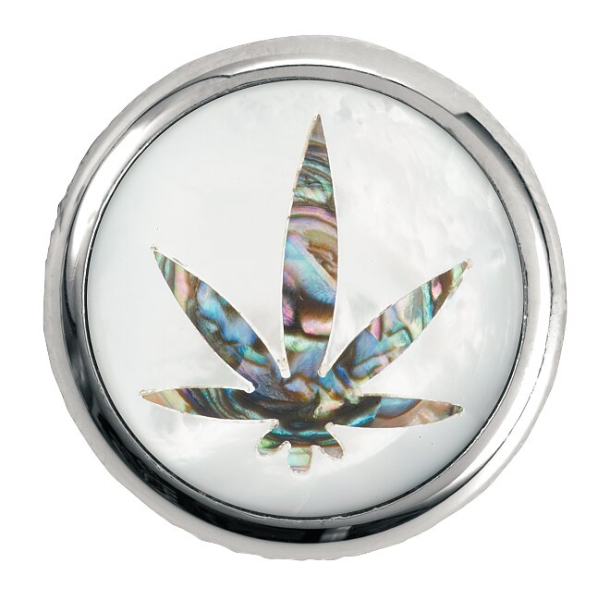 Framus & Warwick - Stacked Potentiometer Dome Knobs, Cannabis Inlay