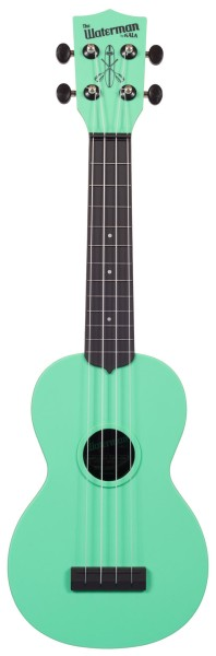 KALA Waterman KA-SWB-GN - Sea Foam Green Matte Soprano Ukulele, with Tote Bag