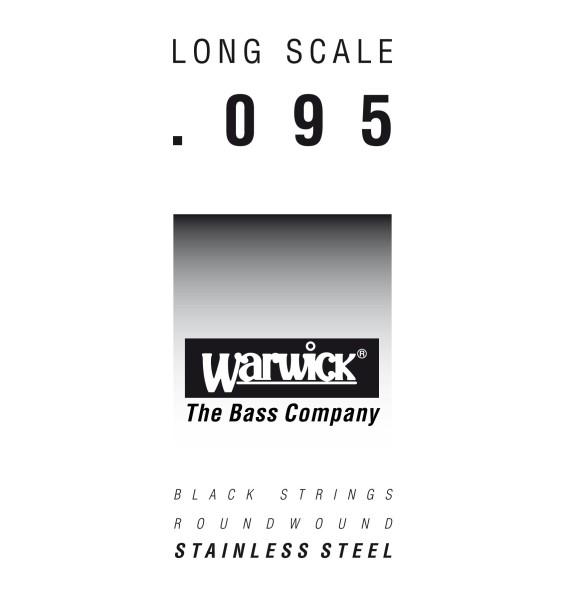 Warwick Black Label Bass Single Strings, Stainless Steel - Long Scale