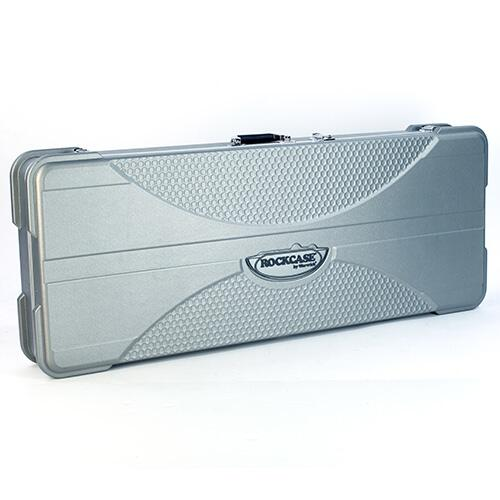 RockCase - Premium Line - XP-Style Electric Guitar ABS Case, rectangular - Silver