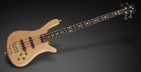 Warwick Custom Shop Streamer Stage II, 4-String - Natural Oil Finish - 17-3598