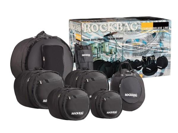 RockBag - Deluxe Line - Drum Flat Pack Standard Bag Set