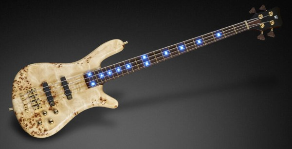 Warwick Custom Shop Streamer Stage II, 4-String - Natural Transparent Satin - 17-3643