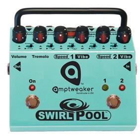 Amptweaker SwirlPool - 2-Speed Tremolo & Vibe