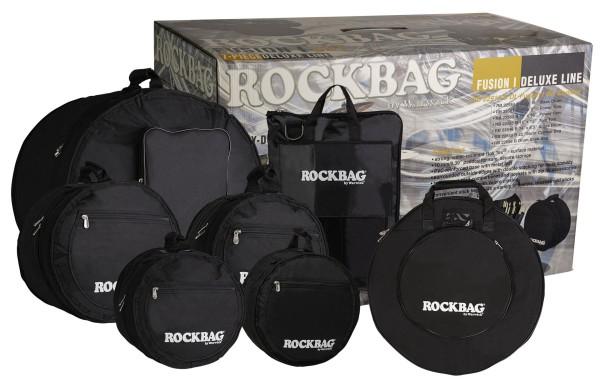 RockBag - Deluxe Line - Drum Flat Pack Fusion I Bag Set