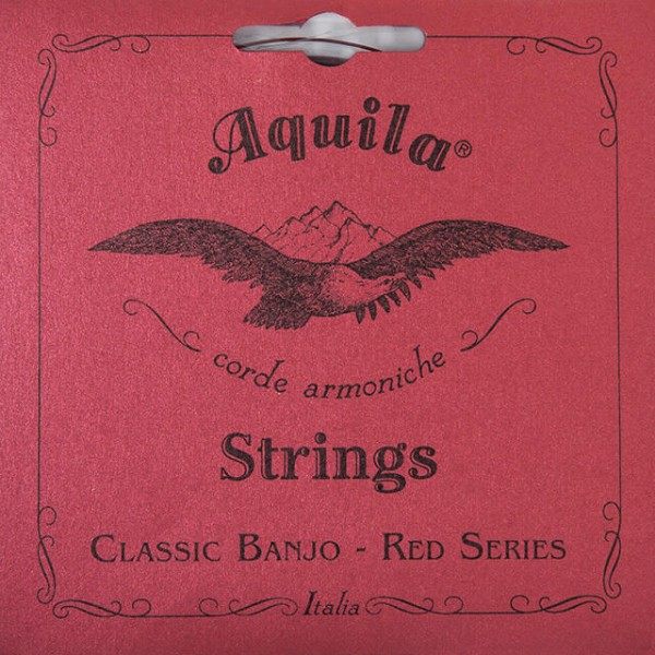 Aquila 11B - Red Series, Old Style Banjo String Set - 5-String, DBGDG Tuning, Normal Tension