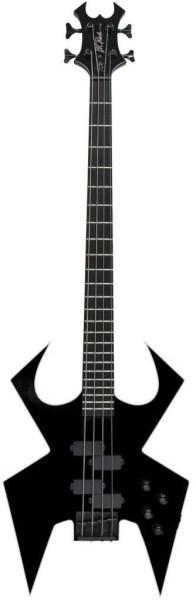 B.C. Rich Widow Bass, Legacy Series, 4-String - Black Onyx