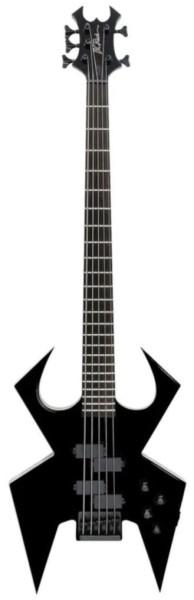 B.C. Rich Widow Bass, Legacy Series, 5-String - Black Onyx