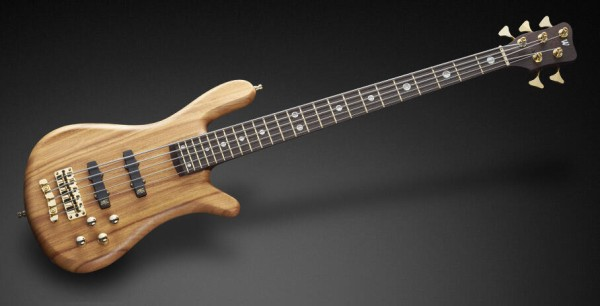 Warwick Custom Shop Streamer Stage II, 5-String - Natural Oil Finish - 17-3682