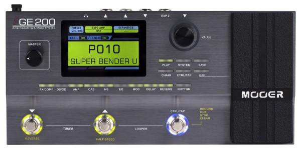 Mooer GE 200 Amp modelling & Multi Effects