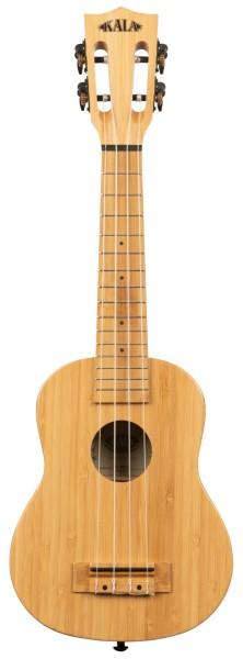 KALA KA-BMB-S - Solid Bamboo Soprano Ukulele, with Bag (UB-S)