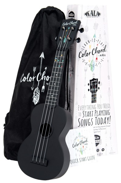 KALA KALA-LTP-SCC - Color Chord Learn To Play Ukulele Starter Kit