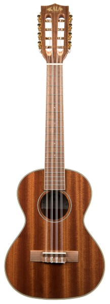 KALA KA-8 - Gloss Mahogany Tenor 8-String Ukulele, with Bag (UB-T)