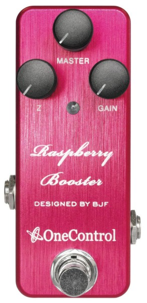 One Control Raspberry Booster - Vintage Boost / Overdrive