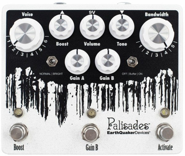 EarthQuaker Devices Palisades V2 - Mega Ultimate Overdrive