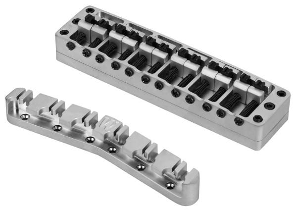 Warwick 2-Piece 3D Bridges & Tailpieces, 12-String Broadneck, Brass