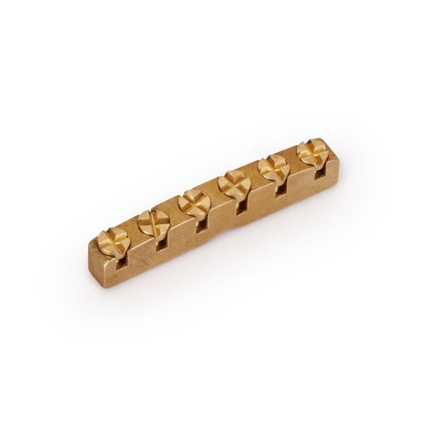 Framus Parts - Just-A-Nut, 6-String, Brass