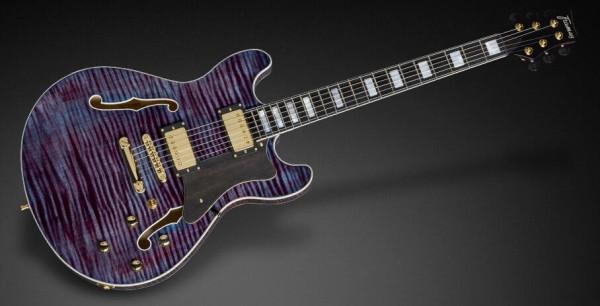 Framus Custom Shop Mayfield Custom - Midnight Blue Transparent High Polish - 17-3703