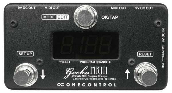 One Control Gecko MKIII - Programmable MIDI Controller / Tap Tempo