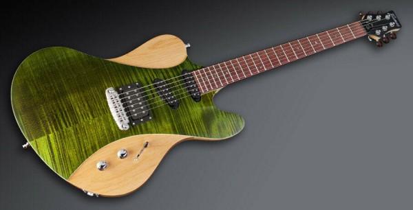 Framus Masterbuilt Idolmaker 5'R - Emerald Green Transparent Satin