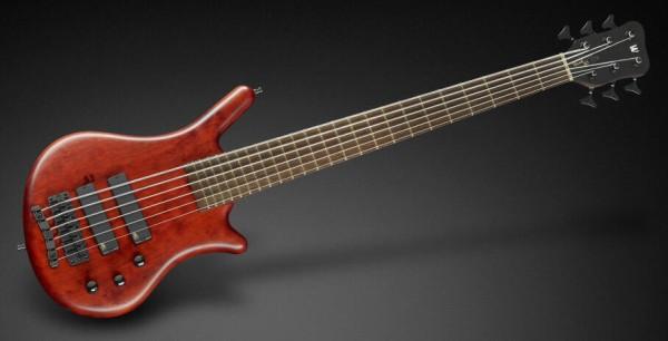 Warwick Masterbuilt Thumb BO, 6-String - G-Orange Transparent Satin