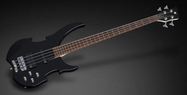 Warwick RockBass Vampyre, 4-String - Solid Black High Polish