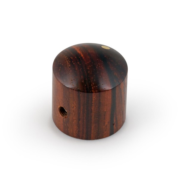 Framus & Warwick Parts - Wooden Dome Knob - Cocobollo