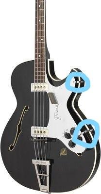 Pickguard Halterung 5/150 Star Bass