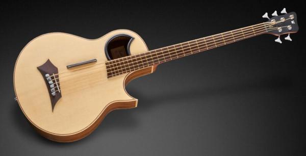 Warwick Alien, 5-String - Natural Transparent Satin