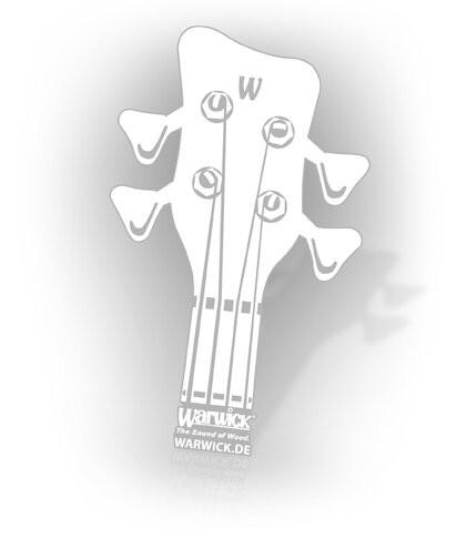 Warwick Promo - Headstock Sticker