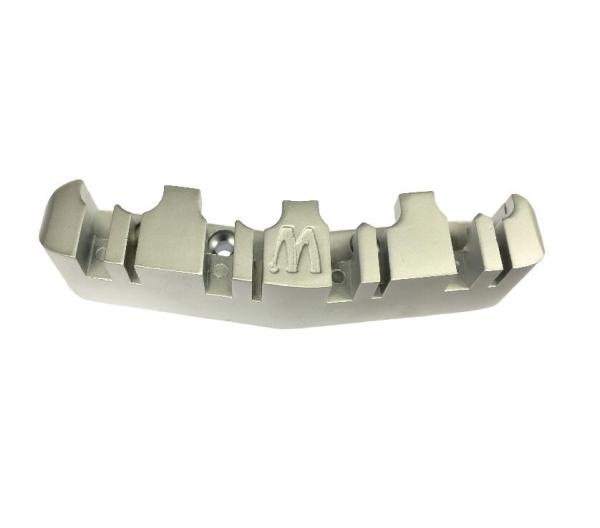 Warwick Tailpiece, 8-string / Satin Chrome