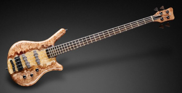 Warwick Custom Shop Thumb NT, 4-String - Natural Transparent High Polish River Finish - 19-4025 - Showroom Model