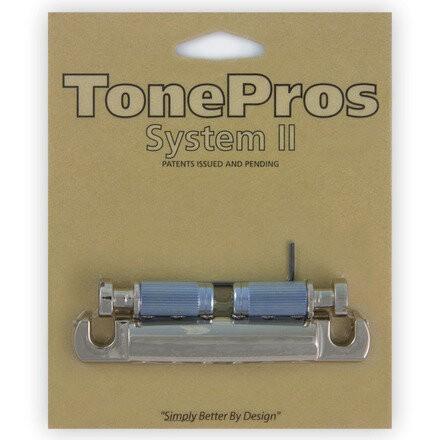 TonePros T1ZA - Metric Aluminum Tailpiece - Nickel