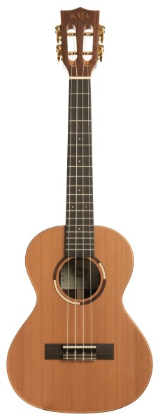 KALA KA-ASCP-T - All Solid Cedar Top, Pau Ferro Tenor Ukulele, with Case (UC-T)