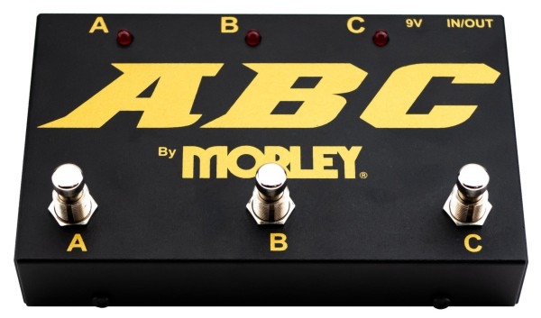 Morley ABC-G - Gold Series ABC Switcher - A/B/C Switch